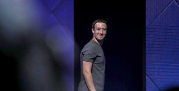 SAN JOSE, CA - APRIL 18: Facebook CEO Mark Zuckerberg delivers the keynote address at Facebook