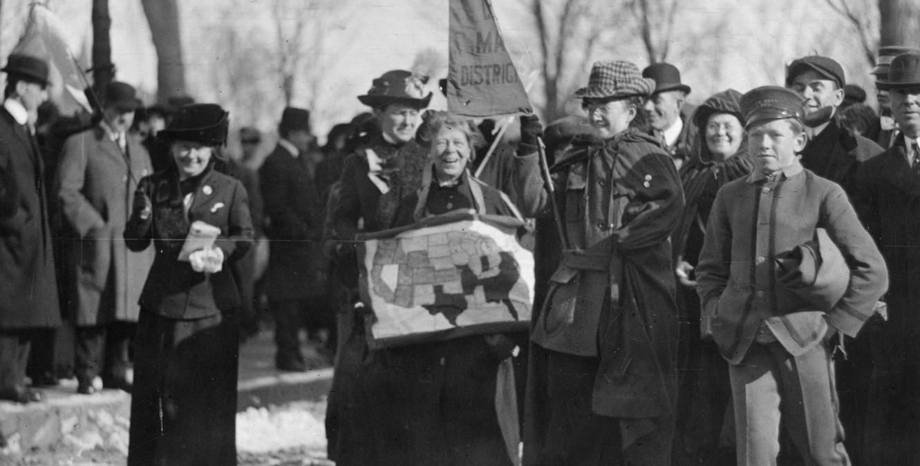 women u2019s right to vote  the us suffrage movement